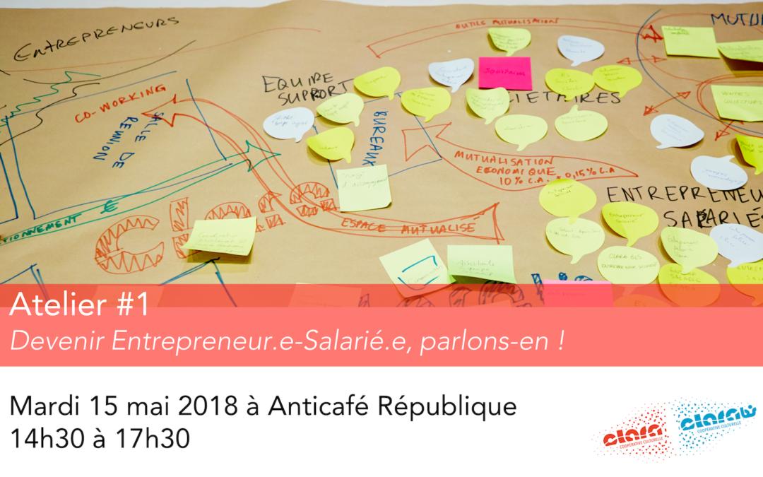 Atelier – Devenir Entrepreneur.e-Salarié.e, parlons-en !
